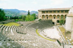 Amfitheater in Spoleto