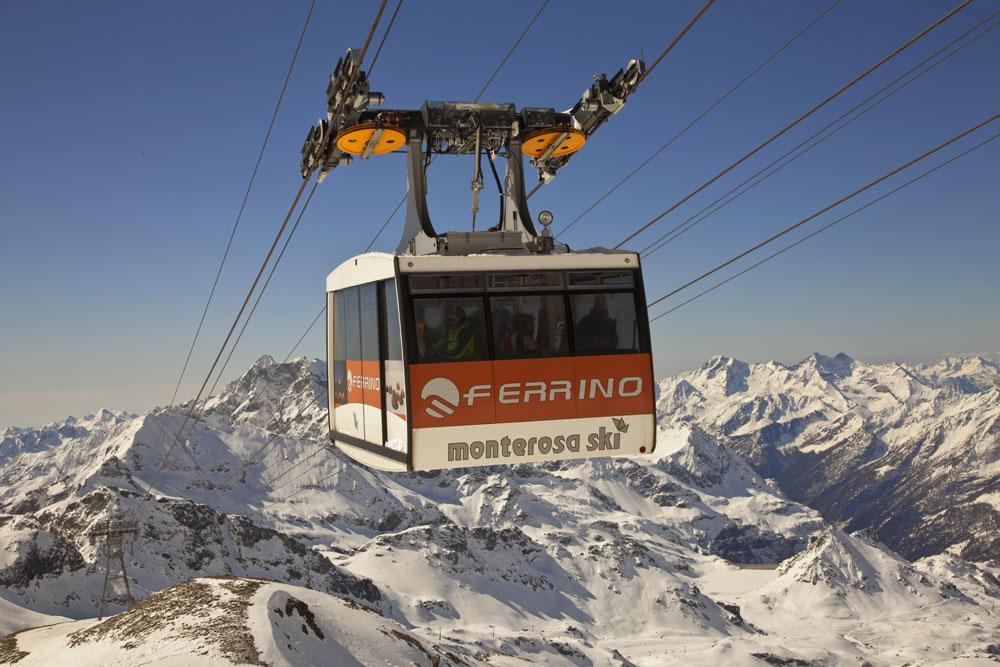 Monterosa Gressoney © Archivio Fotografico Monterosa Ski