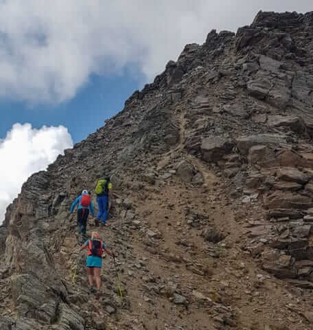 Wandelen in de bergen van Livigno © Claudia Zanin