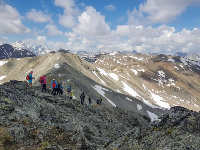 Bergwandelen in Livigno © Claudia Zanin