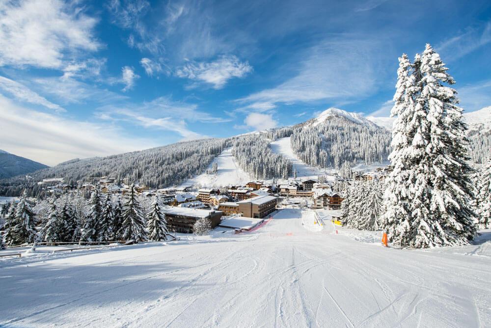 Skiën naar Madonna di Campiglio © P.Luconi Bisti