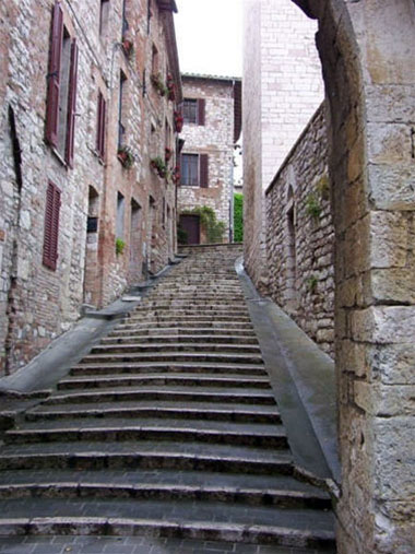 Straatje in Spello