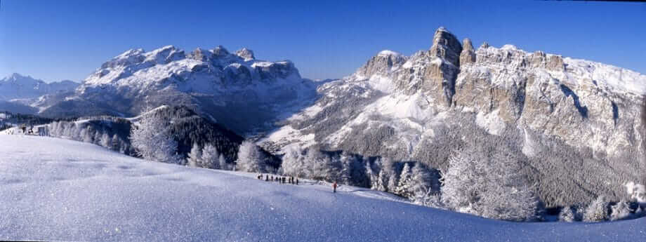 Alta Badia Sella, Sassongher by Freddy Planinschek