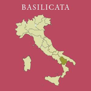 Kaart van Basilicata