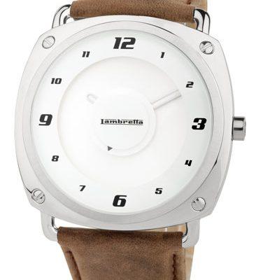 Lambretta horloge Brunori brown