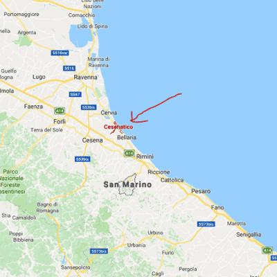 Bekende Nederlanders op vakantie in Italië