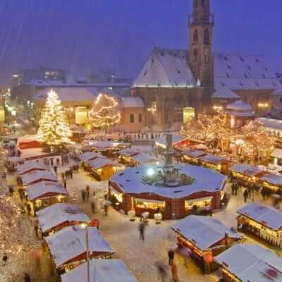 Sfeervolle Kerstmarkten in Italie