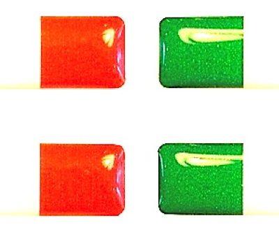 Dooming stickers 25 x 7 mm Italiaanse vlag - Uitverkoop