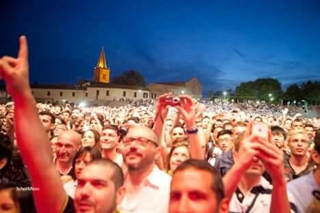 Genieten in de Arena Santa Giuliana in Perugia