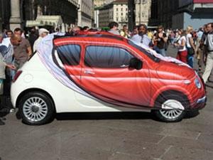 De nieuwe Fiat 500 presentatie in Milaan