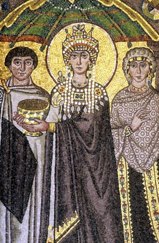 Ravenna Mosaico Basilica San Vitale Teodora © APT Emilia Romagna