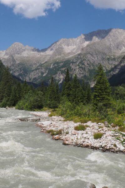Fietsen in het Parco Naturale Adamello Brenta