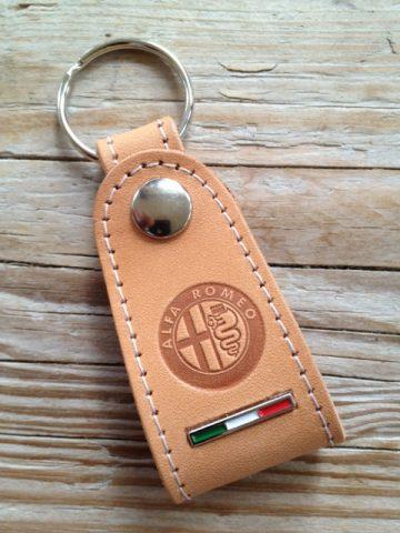 Alfa Romeo tuigleren sleutelhanger