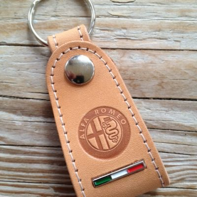 Alfa Romeo tuigleren sleutelhanger - uitverkoop