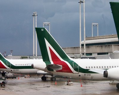Italianen over de redding van Alitalia