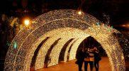 Italiaanse kerstsfeer in Zuid Italie