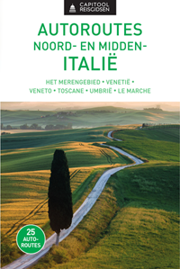 Vraag de nieuwsbrief aan en maak kans op een van de vijf exemplaren van de reisgids '25 autoroutes in Noord- en Midden-Italië