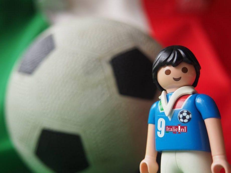 azzurri elftal Italiaans voetbal op het EK