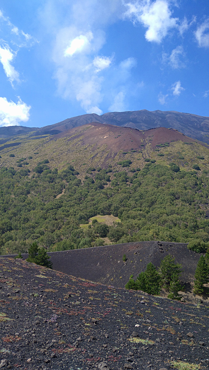 de Etna vulkaan