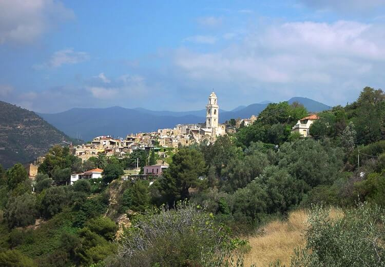 Bussana Vecchia in Liguria