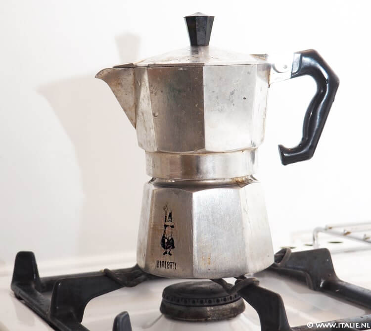 caffettiera, koffiepotje © Italie.nl