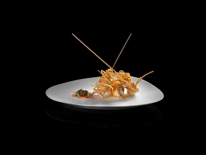 Calandre fried langoustine rolls © Sergio Coimbra