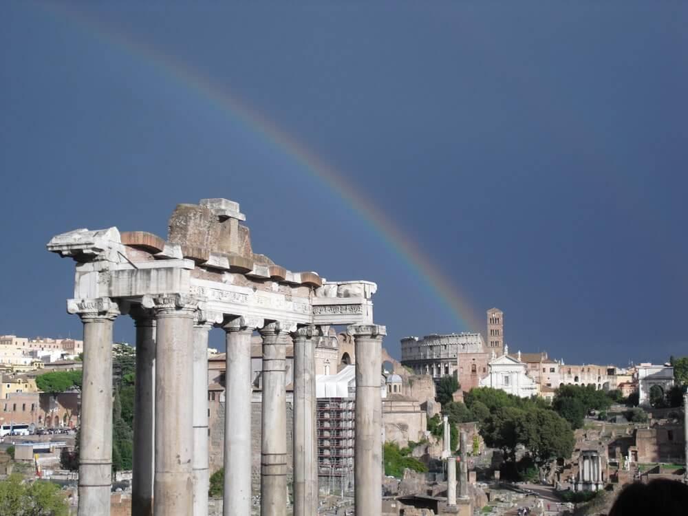 Gratis stedentrip naar Rome