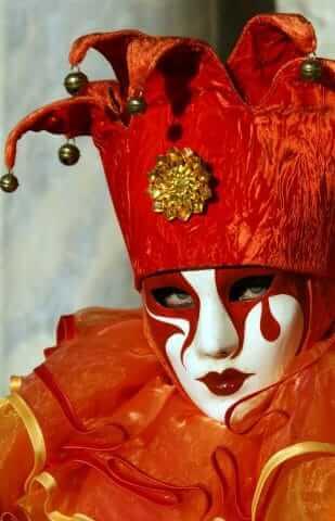 Carnaval Venetië © Luc Bosmans 2009