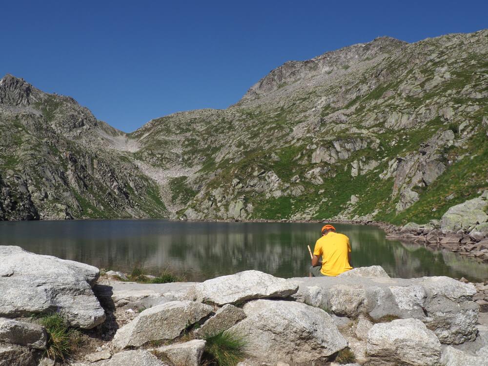 Lago Lambin (2324 meter), Madonna di Campiglio © Claudia Zanin