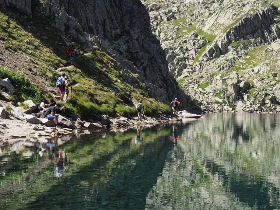 Lago Lambin (2324 meter),