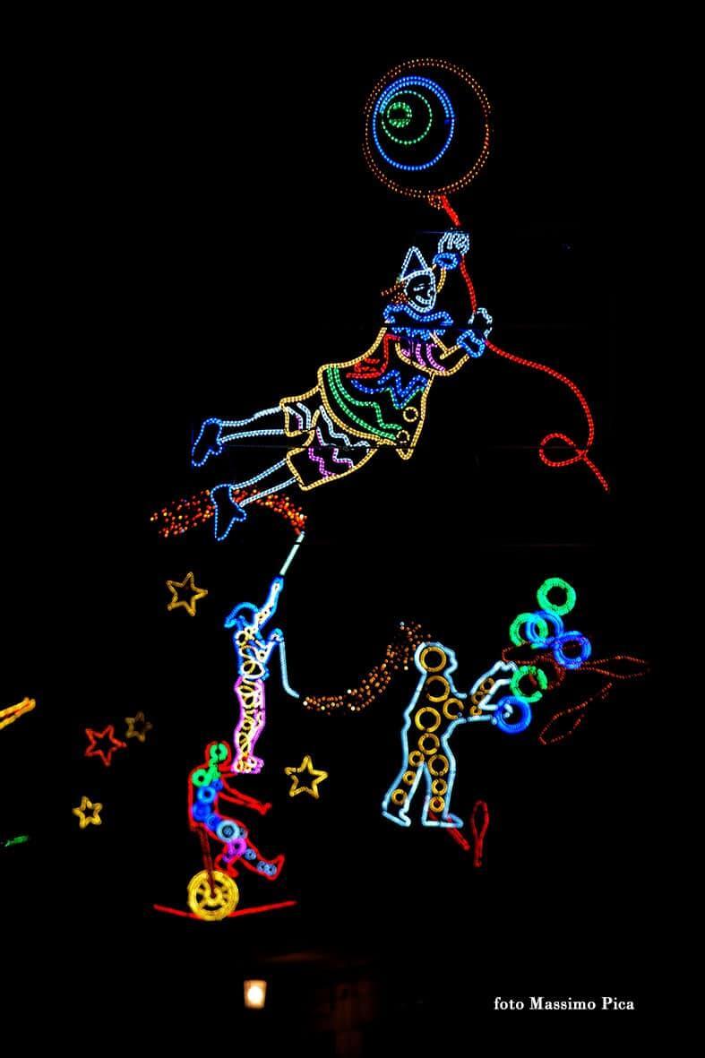Circus, Luci d'artista, Salerno, foto Massimo Pica
