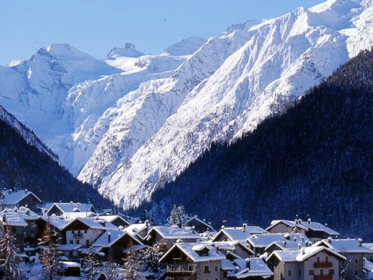 Cogne en Gran Paradiso. Foto van VVV Valle d'Aosta