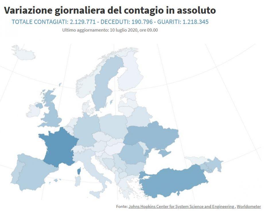 coronavirus europa 10-07-20