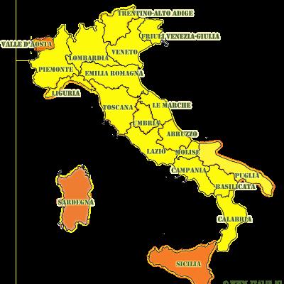 15-5-21: Italië opent grenzen; quarantaine-plicht vervalt