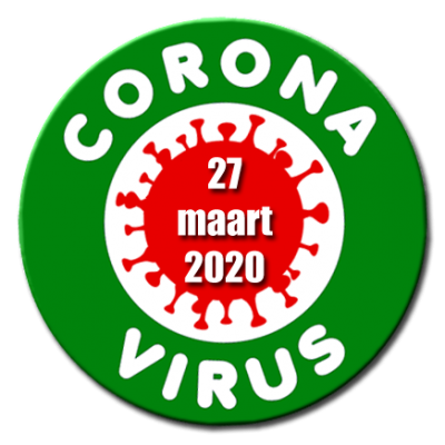 27 maart Corona nieuwsflits