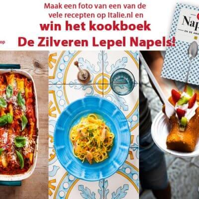 Win kookboek De Zilveren Lepel Napels!
