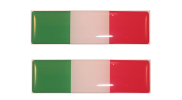 Duo stickerset Italiaanse vlag
