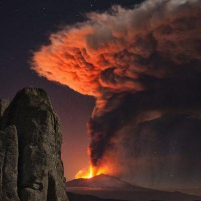 Uitbarsting Etna - 23 februari 2021