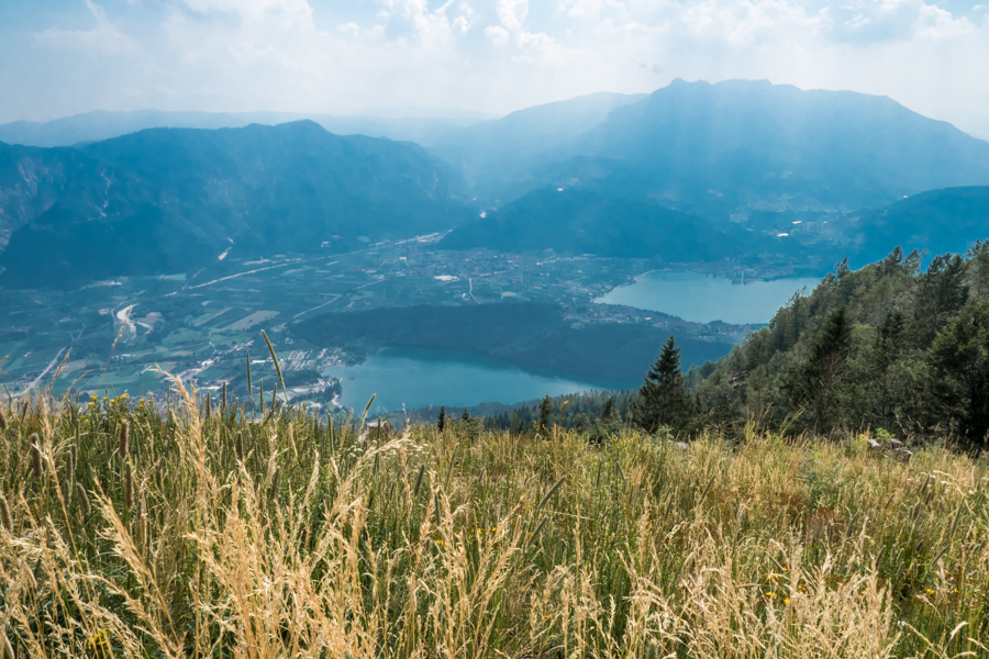 Uitzicht vanaf Forte Busa Grande, Valsugana