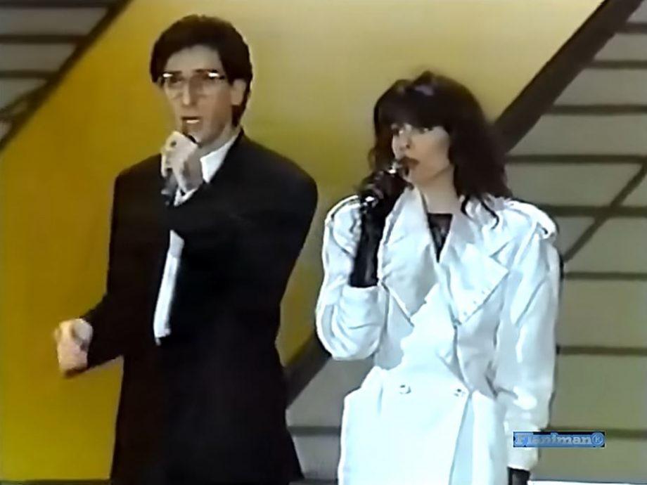 Franco Battiato e Alice - Eurovisie Songfestival 1984