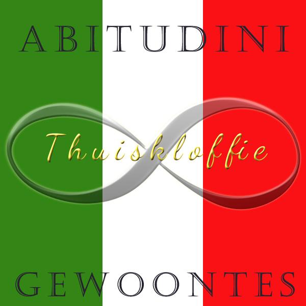Italiaanse gewoonte: thuiskloffie