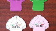Set Giro d'Italia koelkast magneetjes - uitverkoop
