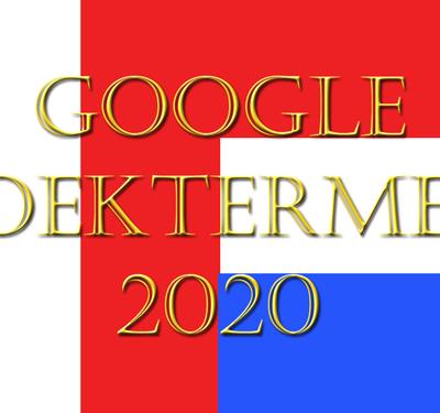 Italië vs Nederland Google zoektermen 2020