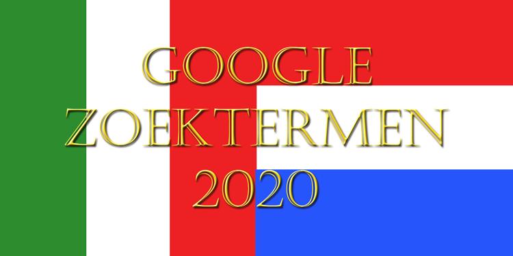 Google zoektermen Nederland versus Italie