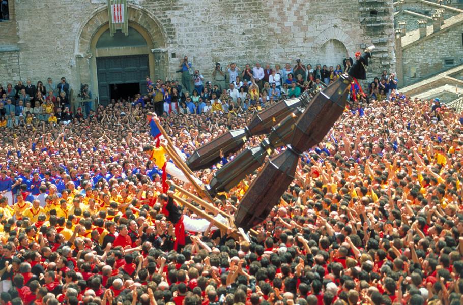 Gubbio - Festa dei ceri © Archivio fotografico APT dell'Umbria