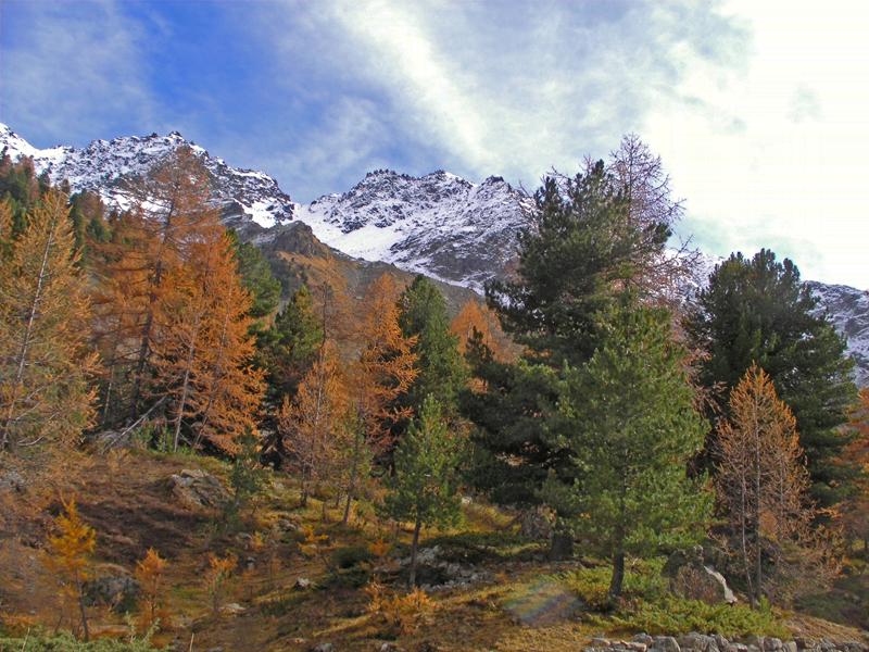 Wandelen in de bergen van Valle d'Aosta