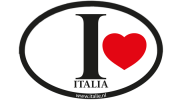 I love Italia sticker - Uitverkoop