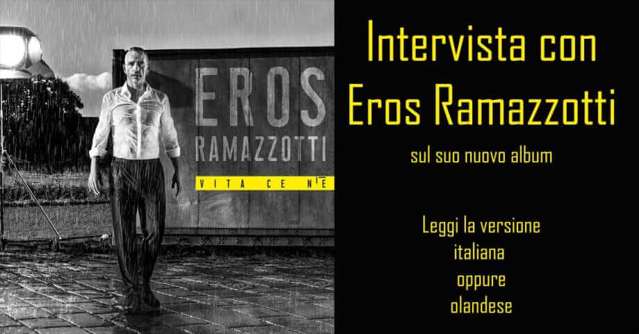 Interview Eros Ramazzotti in italiano