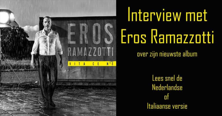 Interview Eros Ramazzotti