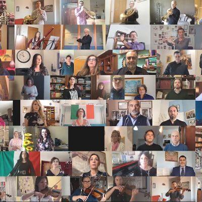 Bijzondere uitvoering Italiaans Volkslied - 25 april 2020